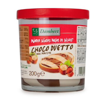 Less Sugar Chocolate Duetto